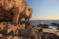 Autre vue des rochers de burns beach