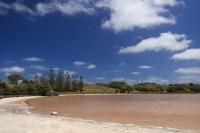 Un des lacs rose de Rotto