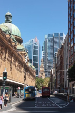 Queen victoria building et la city