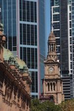 Le clocher de la mairie
