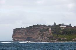 L'entée de la baie de Sydney
