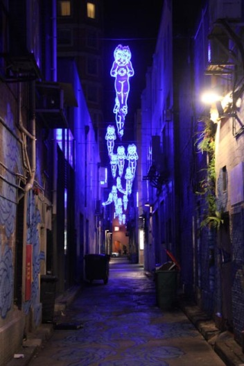 Une ruelle de chinatown