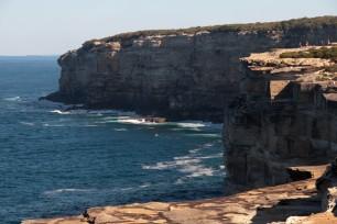 Impressionantes falaises