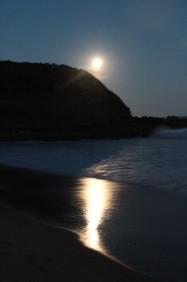 lever de lune