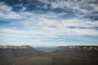 Blue mountains, évidement
