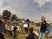 Ambiance au camping