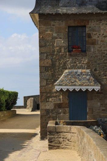 Sur les remparts de St Malo