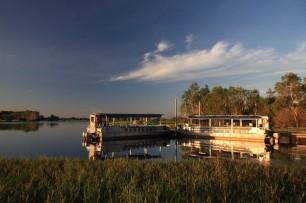 L'embarcadère de Yellow Waters