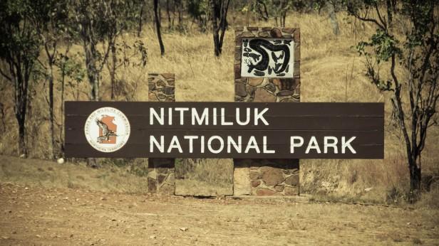 L'entrée de Nitmiluk