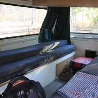 L'intérieur de notre van