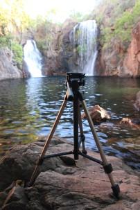 En place pour prendre des photos