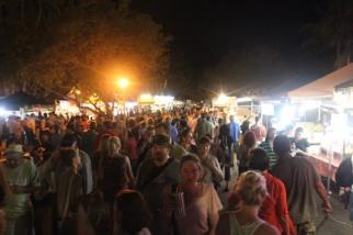 La foule du marché
