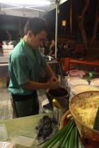 Ma pow pow salade en préparation