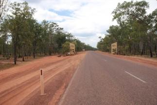 L'entrée de Kakadu
